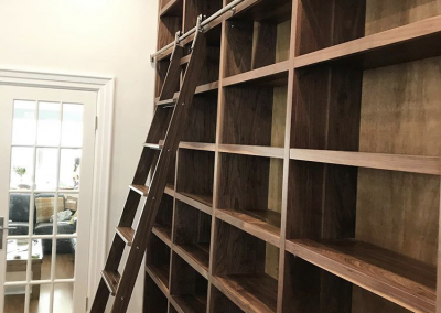 The Mosman Walnut Bookcase