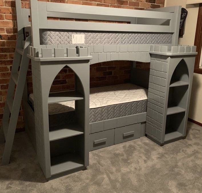 Castle Bunk With Ladder